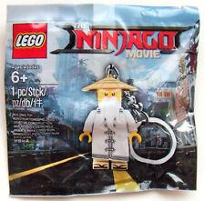 The Ninjago Movie: Master Wu Minifigure Keychain 500491 [Building Toy Ninja] NEW