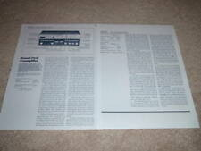 Revox B-252 Preamp Review,2 pgs,1984,Full Test, Specs