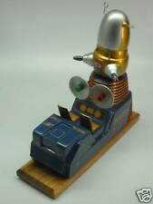 Robby Space Patrol Robot Mahogany Desk Wood Model Large New