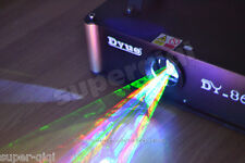New 1000mW 1W RGB Full Color Animation Laser Projector Stage Light ILDA DMX