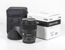 SIGMA single-focus wide-angle lens Art 35mm F1.4 DG HSM for Canon full size F/S