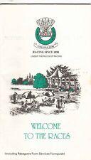 Racecard - Lingfield Park 27th May 1989