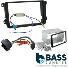 Skoda Fabia MK2 5J 07-14 DANCE Car Stereo Double Din Fascia & Cage Fitting Kit
