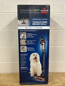 Bissel Cleanview Pet Slim Corded Vacuum Model 28312 NEW + Free Shipping