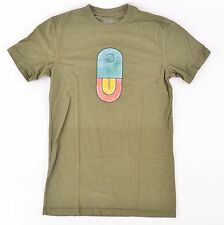 2013 NWT MENS AIRBLASTER TRAVIS PARKER T-SHIRT $28 S Olive/Green premium tee