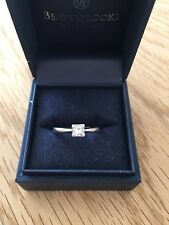 Beautiful 18ct White Gold Diamond Solitaire Engagement Ring