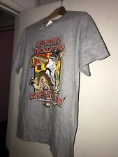 Sf Giants SPRING TRAINING CACTUS LEAGUE T-Shirt World Series Heather Gray Wolf