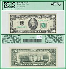 1985 New York $20 Federal Reserve Note PCGS 65 PPQ Gem New Unc FRN