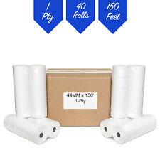 40 Rolls Samsung Er 1710a Er 2710 Er 2715 44mm Cash Register Tape Paper Rolls