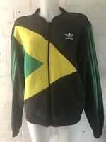 Rare Adidas Originals Jamaica Track Top Size M Men's Jacket Rasta Kingston