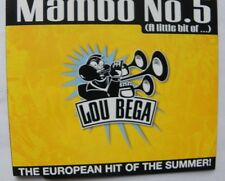 MAMBO NO.5 (A LITTLE BIT OF...) CD SINGLE 3 TRACKS
