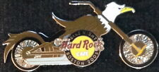 Hard Rock Cafe BOSTON 2005 BIKE NIGHT PIN #2/3 Eagle MOTORCYCLE CHOPPER #28652