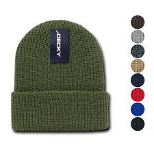 8da33d20125 Decky Beanies GI Watch Cap Hat Ski Military Warm Winter Unisex Mens Womens  Youth