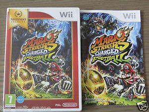 JEU NINTENDO WII / WII U  MARIO STRIKERS CHARGED FOOTBALL  EN FRANCAIS