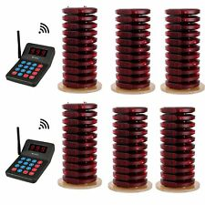 Retekess T119 Restaurant Food Truck Wireless Queuing System 2*Keypad+60*Pagers