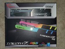 ✔ G.SKILL TridentZ RGB 16GB (2x8GB) 3600 DDR4 *16-16-16-36* *B-Die* 28800 GSKILL