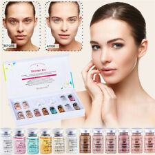 12Pcs/Set BB Glow Ampoule Serum Liquid Foundation Facial Booster Treatment Kit