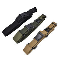 3 Point Rifle Sling Hunting Belt Gun Strap Outdoor Survival Swivels Strap NIUS