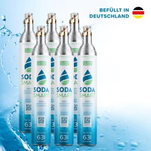 SodaStream* Zylinder 60L Voll CO2 (Crystal, Easy) Kohlensäure 425g+25g 1-6er