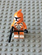 Star Wars LEGO MINIFIG Minifigure sw299 CLONE BOMB SQUAD TROOPER 7913 Rare!