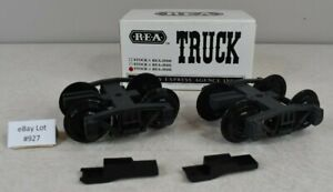 (Lot #927) G Scale Aristocraft REA Truck Set Boxed NOS