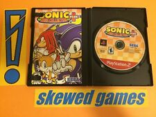 Sonic Mega Collection Plus - Greatest Hits - PS2 PlayStation 2 Sony COMPLETE