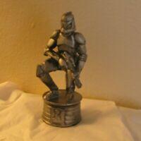 "3/"" IN 2002 LFL Star Wars chess piece Clone Trooper Silver Plastic Pawn 8cm"