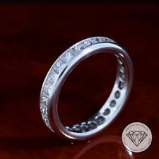 Diamant Echtschmuck aus Platin mit Prinzess-Schliffform