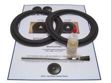 "2 Bose 6.5"" 2.2, 201, 401 Direct Reflect Speaker Foam Surround Repair Kit- 2A65"