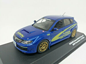 KYOSHO 1:43 SUBARU IMPERZA WRX STI Group N 2008 Presentation 1 of 720 JC29004N