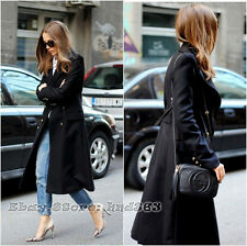 �� Last one! Size XS ZARA MILITARY LONG COAT WOOL BUTTONS DOUBLE BREASTED JACKET