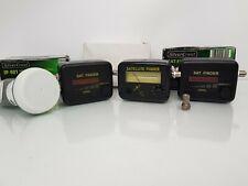 Bundle of Analogue Satellite Finder Signal Meter for Aligning Dish-Silvercrest