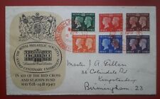 More details for 1940 centenary first day cover - london red cross stamp exhibition postmark