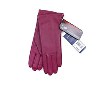 Isotoner Grandoe Women's Leather/ Suede Invisible sensor Touchscreen Gloves