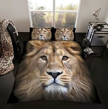 3D Premium Duvet Quilt Cover Set 3D Bedding Set 3D Animal Face Designs Duvet Set