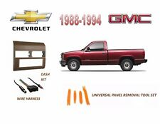 Fits 1988-1994 CHEVY, GMC FULL SIZE TRUCK STEREO INSTALL DASH KIT (BEIGE)