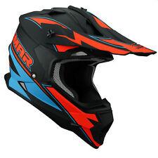 New Vemar TAKU Sz LG Orange ACU Motocross Enduro Helmet KTM SX SXF XC XCF EXC