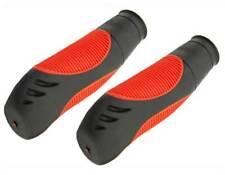 Trek Bicycle Grips Handle Bar Grip Kraton Rubber Black/Red.