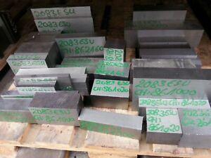 Werkzeugstahl in 1.2083 ESU SONDERVERKAUF !!! 12,5 kg Stahlreste  X42Cr13