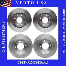 Front & Rear Brake Rotors For Kia Spectra 2004-2009 , Spectra5  2005-2009