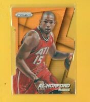 1709  2014-15 Panini Prizm Prizms Orange Die Cut #7 Al Horford HAWKS #54/139