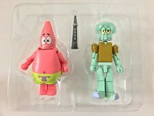 MiniMates Spongebob 2-Pack PATRICK & SQUIDWARD Diamond Select Toys New Loose