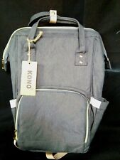 Kono Classic and Collection Grey Canvas Baby Changing Back Pack(New with tags)