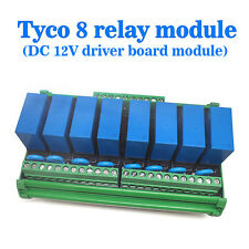 (USA) OEG 8-Channel Relay Socket Eight Panels Driver Boards DC 12V NPN