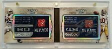 Andrew Luck RG III 2012 Five Star Dual Autograph Laundry Tag Patch 6/10 RC Auto