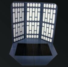 "IMPERIAL LIGHTS 6"" Scale Custom Star Wars Photo Backdrop Display Black Series"