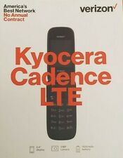 Kyocera Cadence 4G LTE Verizon Prepaid Flip Phone - Sealed in box