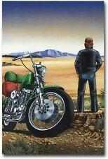 David Mann Ghost Rider Wall Decor Poster ,David Mann Ghost Rider no Framed