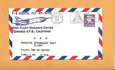 F-8 DIGITAL FLY-BY WIRE ARM ANLYTIC REDUNDANCY TEST AUG 4,1981  EAFB