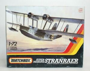 Matchbox Super-Marine Stranraer 1/72 Scale Plastic Model Kit PK-601